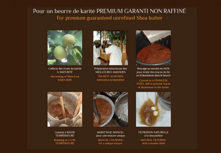 La production écologique du beurre de Karité naturel