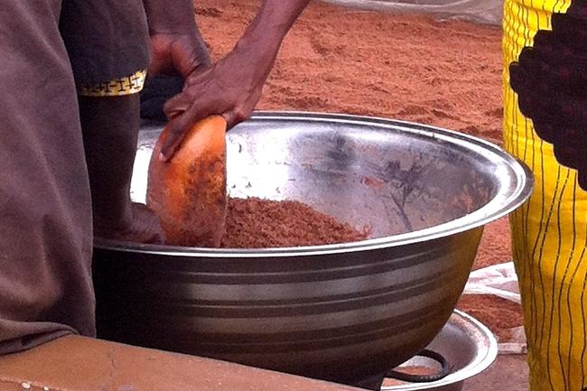 poudre de coques de karité karethic